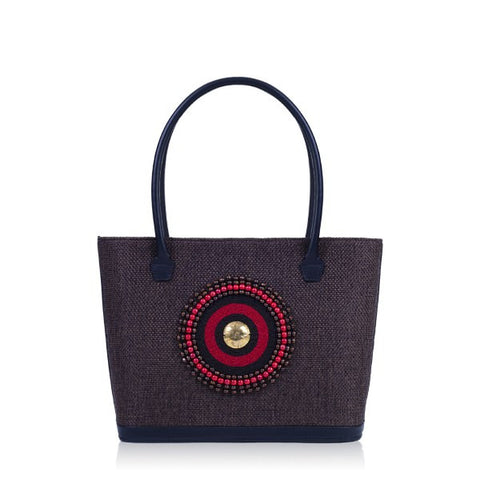 Brown Tote Bag - Samburu