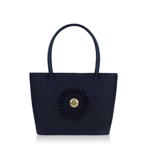 Tsavo Black Tote Bag