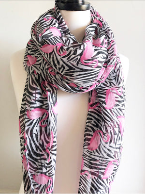 Striking Flamingo Scarf