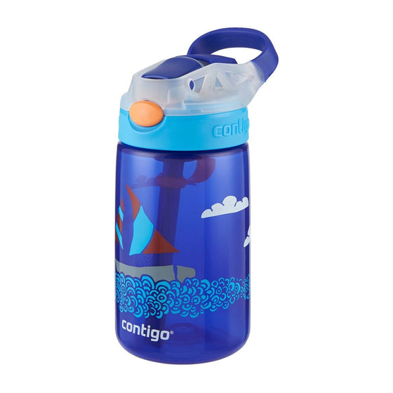 Contigo Gizmo Flip Autospout Kids Bottle 420ml Yacht