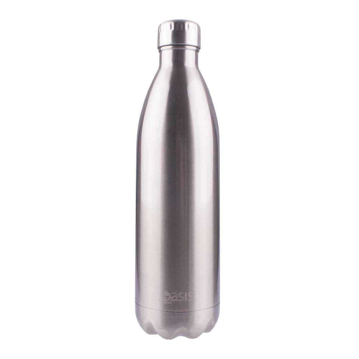 Oasis Insulated Stainless Steel Drink Bottle 1Lt Silver - stuff-n-things