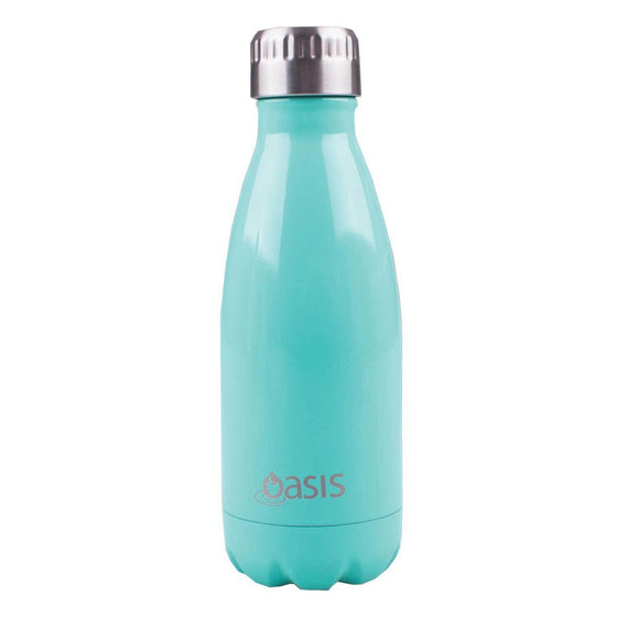Oasis Insulated Stainless Steel Drink Bottle 350ml Spearmint