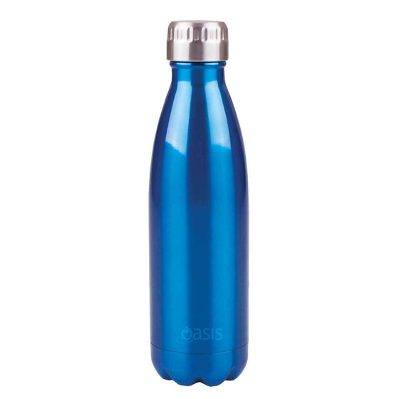 Oasis Insulated Stainless Steel Drink Bottle 500ml Aqua