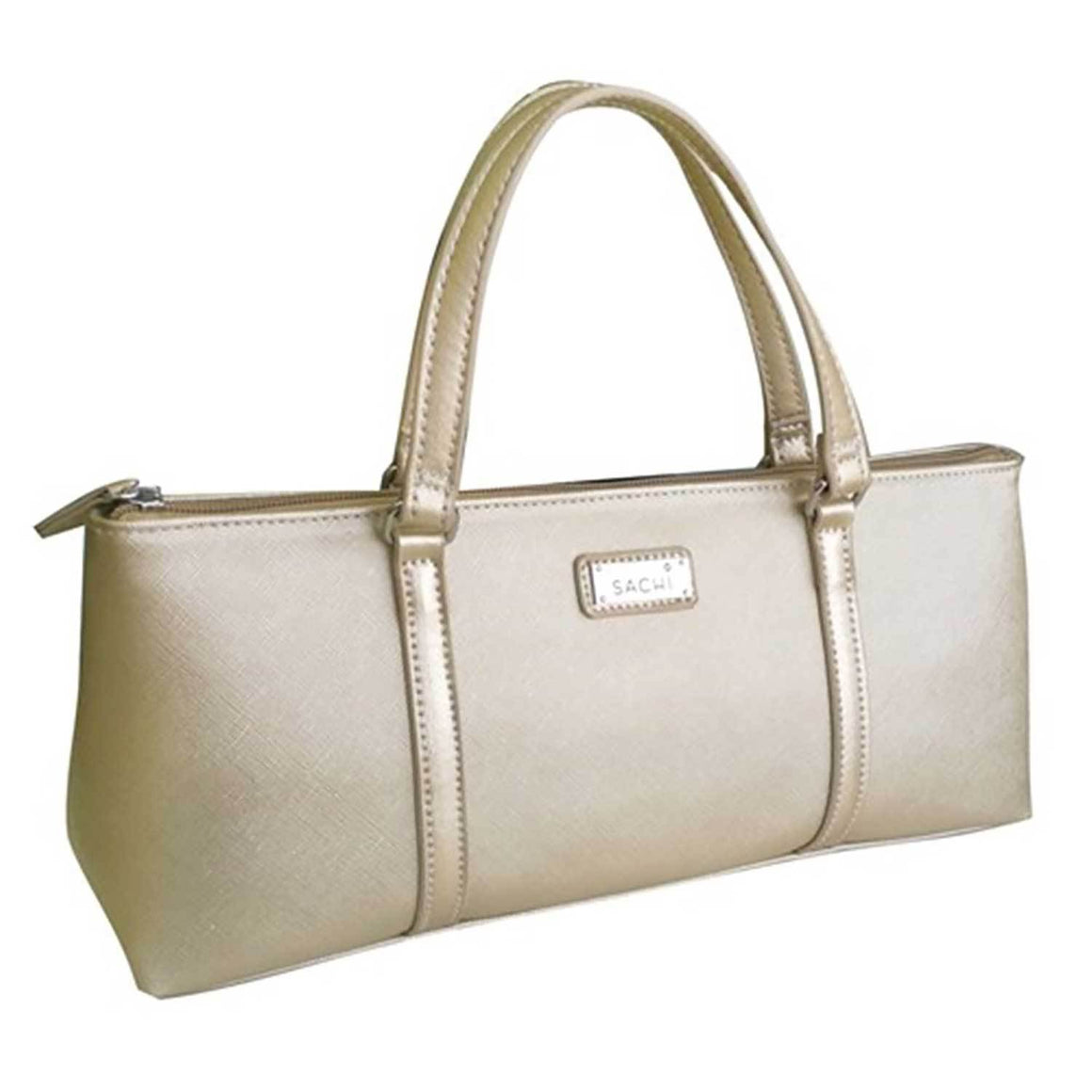 Sachi Insulated Lunch Purse Champagne Gold - stuff-n-things