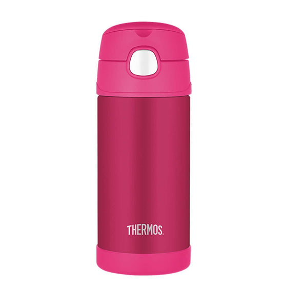 Thermos Funtainer Stainless Steel Vacuum Insulated Bottle 355ml Pink