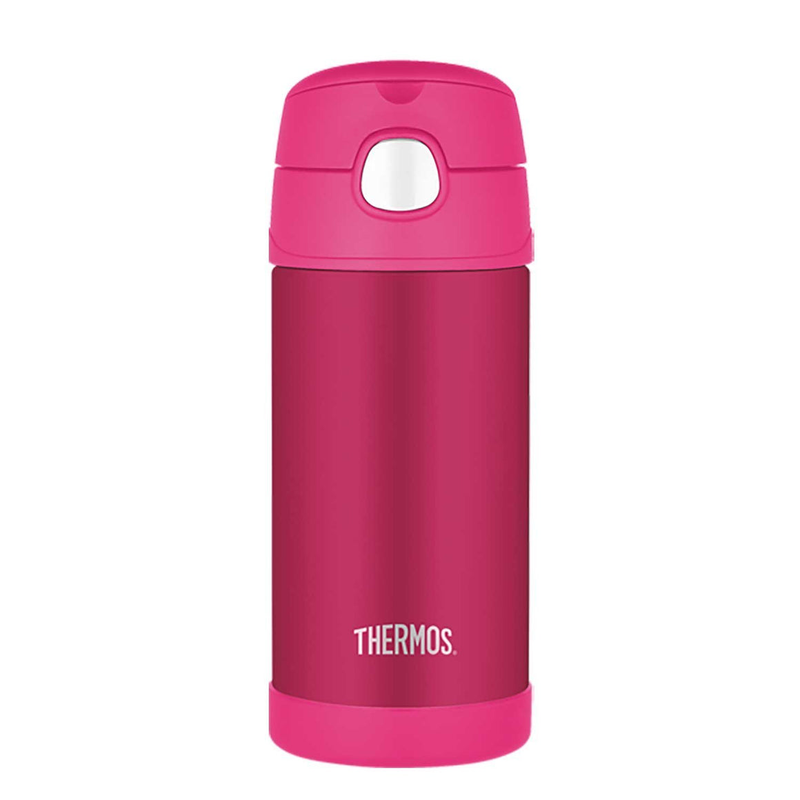 Thermos Funtainer Stainless Steel Vacuum Insulated Bottle 355ml Pink - stuff-n-things