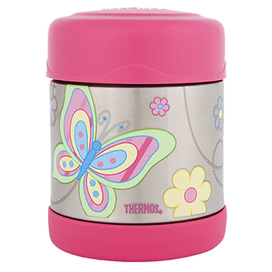 Thermos Funtainer Stainless Steel Vacuum Insulated Food Jar 290ml Butterfly