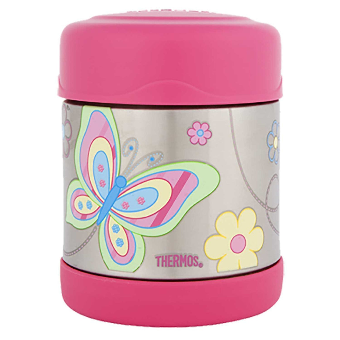 Thermos Funtainer Stainless Steel Vacuum Insulated Food Jar 290ml Butterfly - Stuff-n-Things