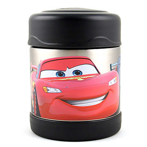 Thermos Funtainer Stainless Steel Vacuum Insulated Food Jar 290ml Disney Cars