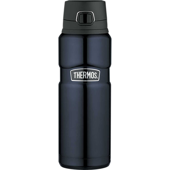 Thermos Stainless Steel King Vacuum Insulated Bottle 710ml Midnight Blue