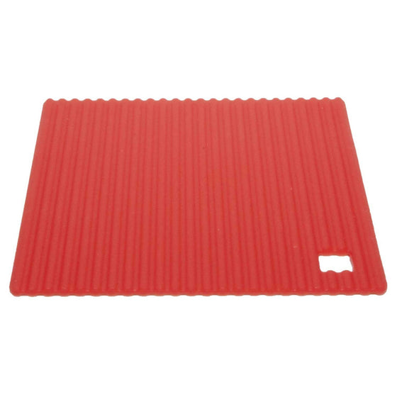 Zeal Originals Silicone Hot Mat Large 22cm Red