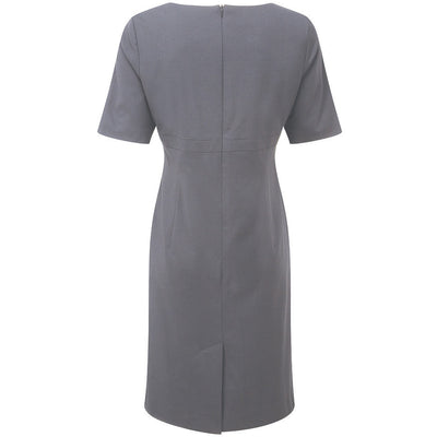 "Robe ""Icona"" à manches courtes femme, robe femme - PANOPLEE"