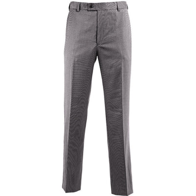 "Pantalon de costume sans pinces ""Icona"" homme gris clair"