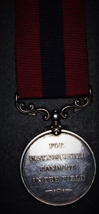 A gallantry medal to a brave man
