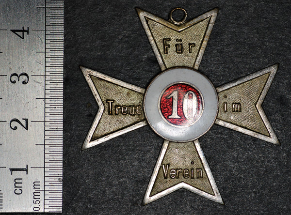 Germany '10 years loyal service' medal.