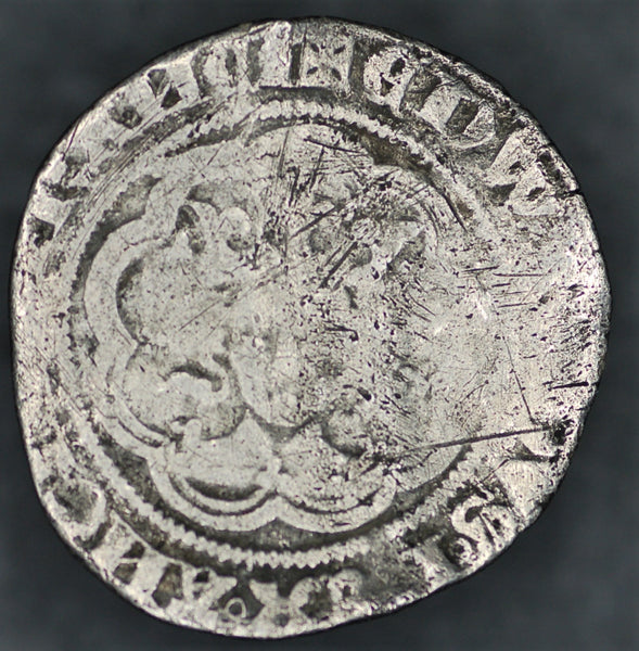 Edward III. Halfgroat.