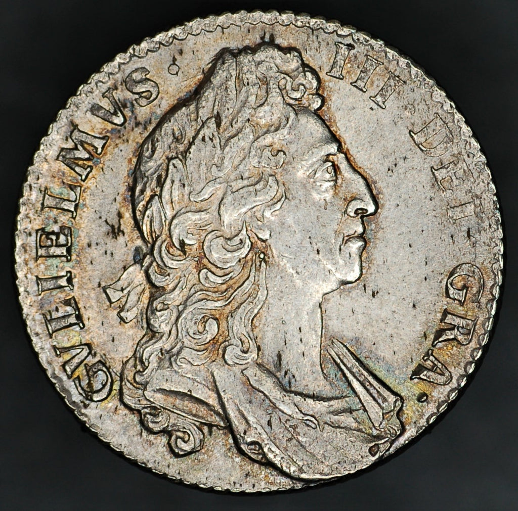 William III. Shilling. 1697