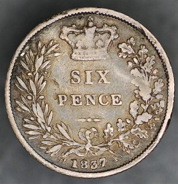 William IV. Sixpence. 1837