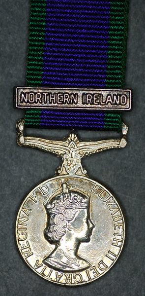Miniature Campaign Service Medal. Northern Ireland.