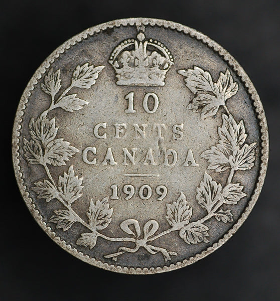 Canada. 10 Cents. 1909