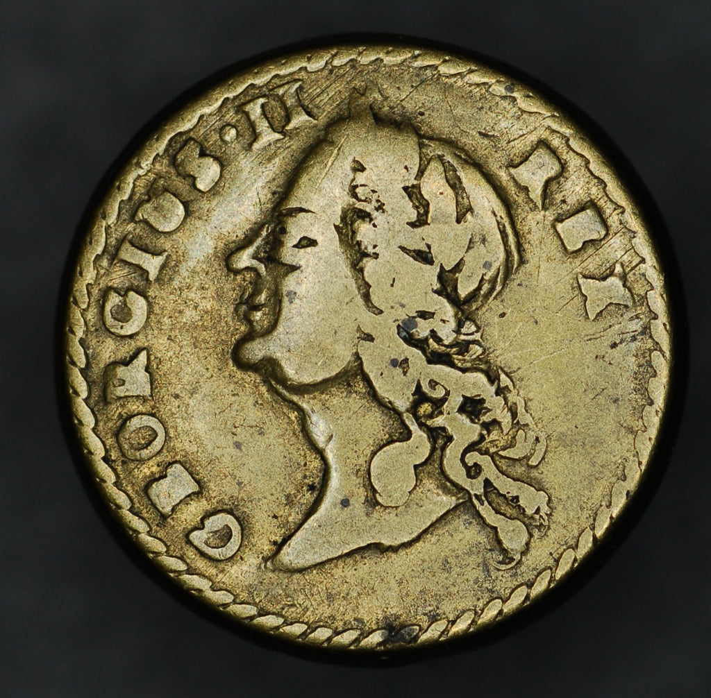 George II. One Guinea coin weight.