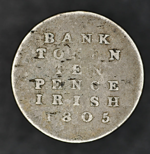 Ireland. Ten pence. 1805