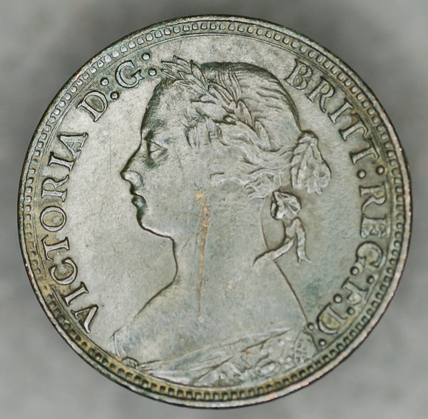Victoria. Farthing. 1879