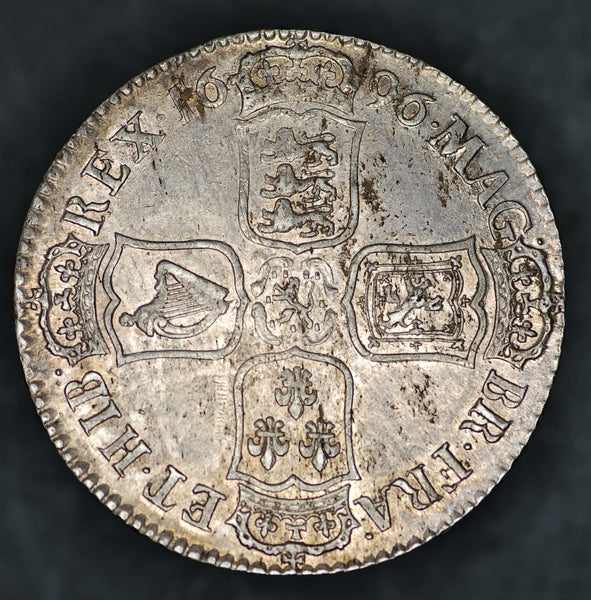 William III. Halfcrown. 1696