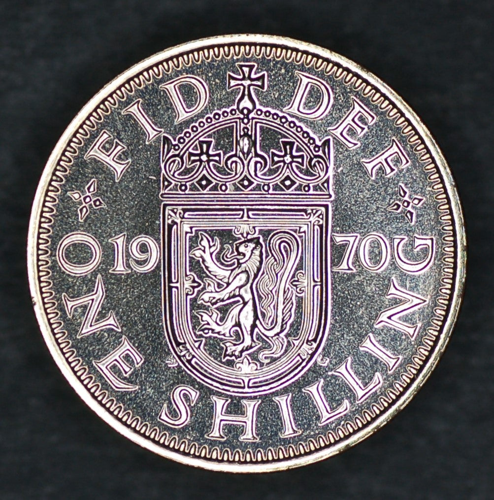 Elizabeth II. Shilling. 1970 (Scottish)
