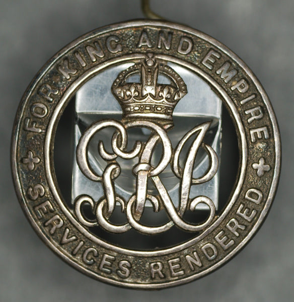 WW1. Silver War Badge. Grenadier Guards