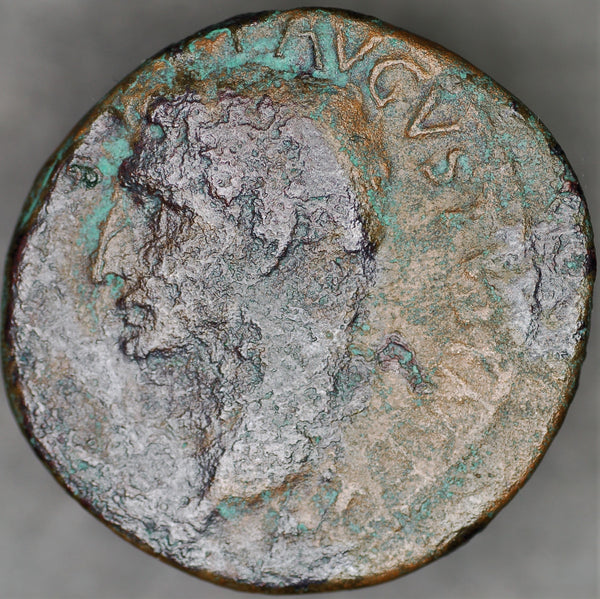 Augustus. AS. 10-12AD