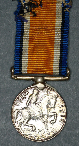 Miniature. WW1. British war medal.