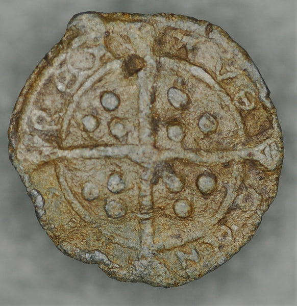 Boy Bishop token. Bury St Edmunds Circa 1450 AD.