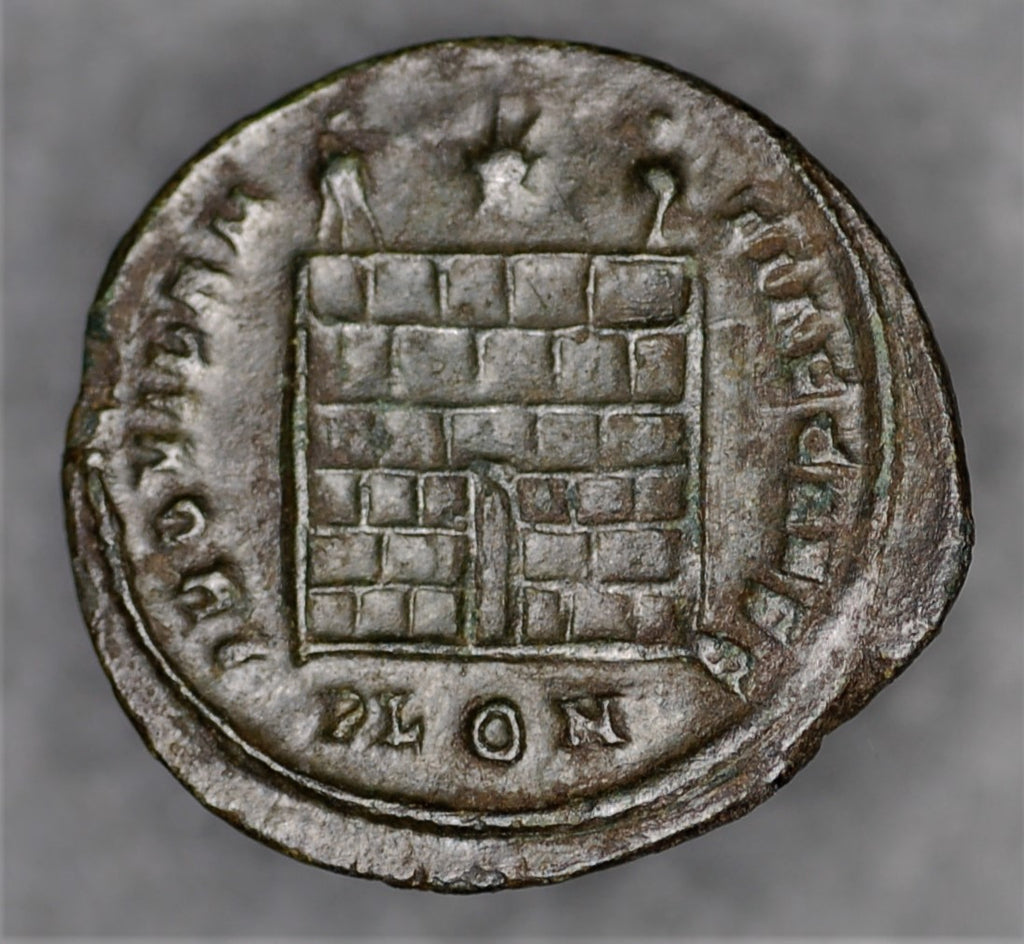 Constantine II. Follis. London mint. AD 337-340