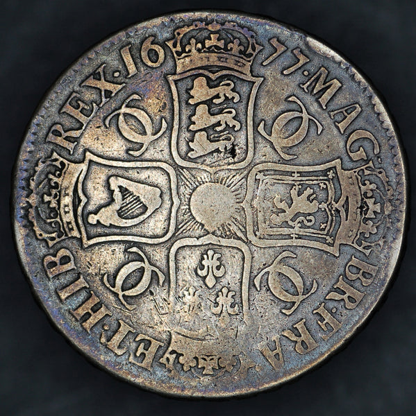 Charles II. Crown. 1677