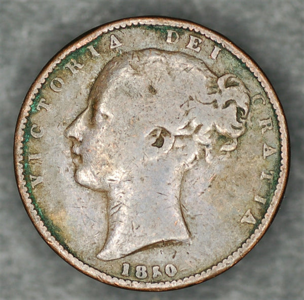 Victoria. Farthing. 1850