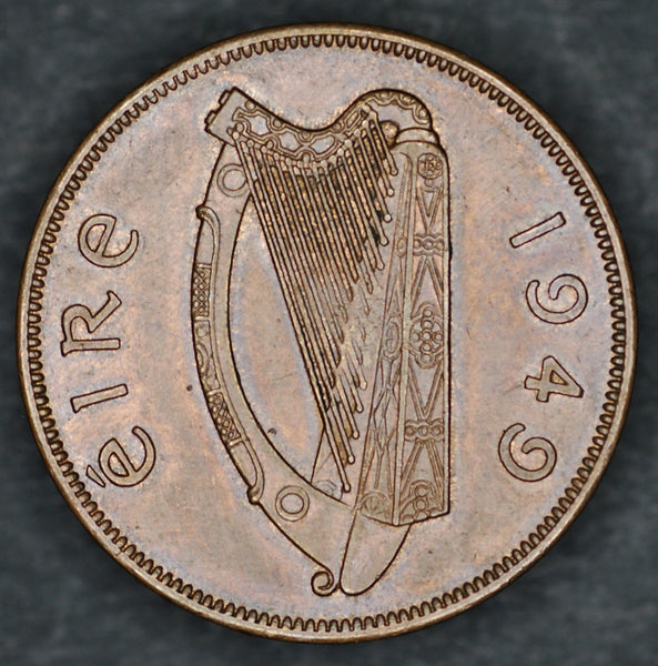 Ireland. One penny. 1949