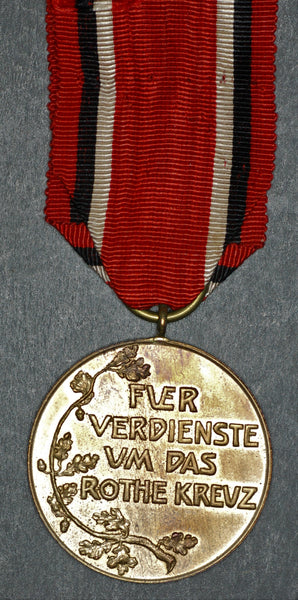 Germany. Prussia. Red cross medal in bronze. 1898-1916