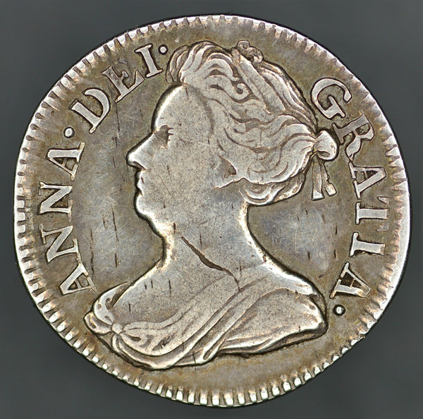 Anne. Threepence. 1708