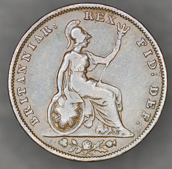 William IV. Farthing. 1834