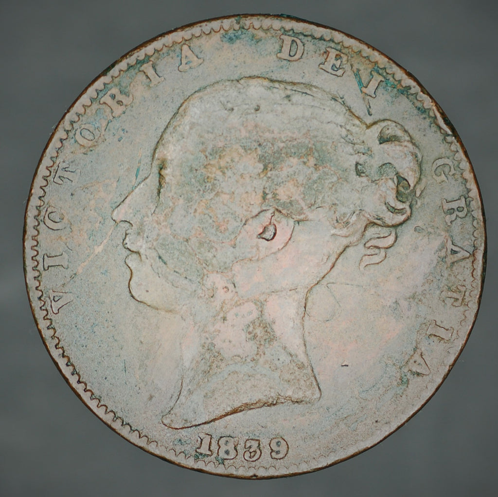 Victoria. Farthing. 1839