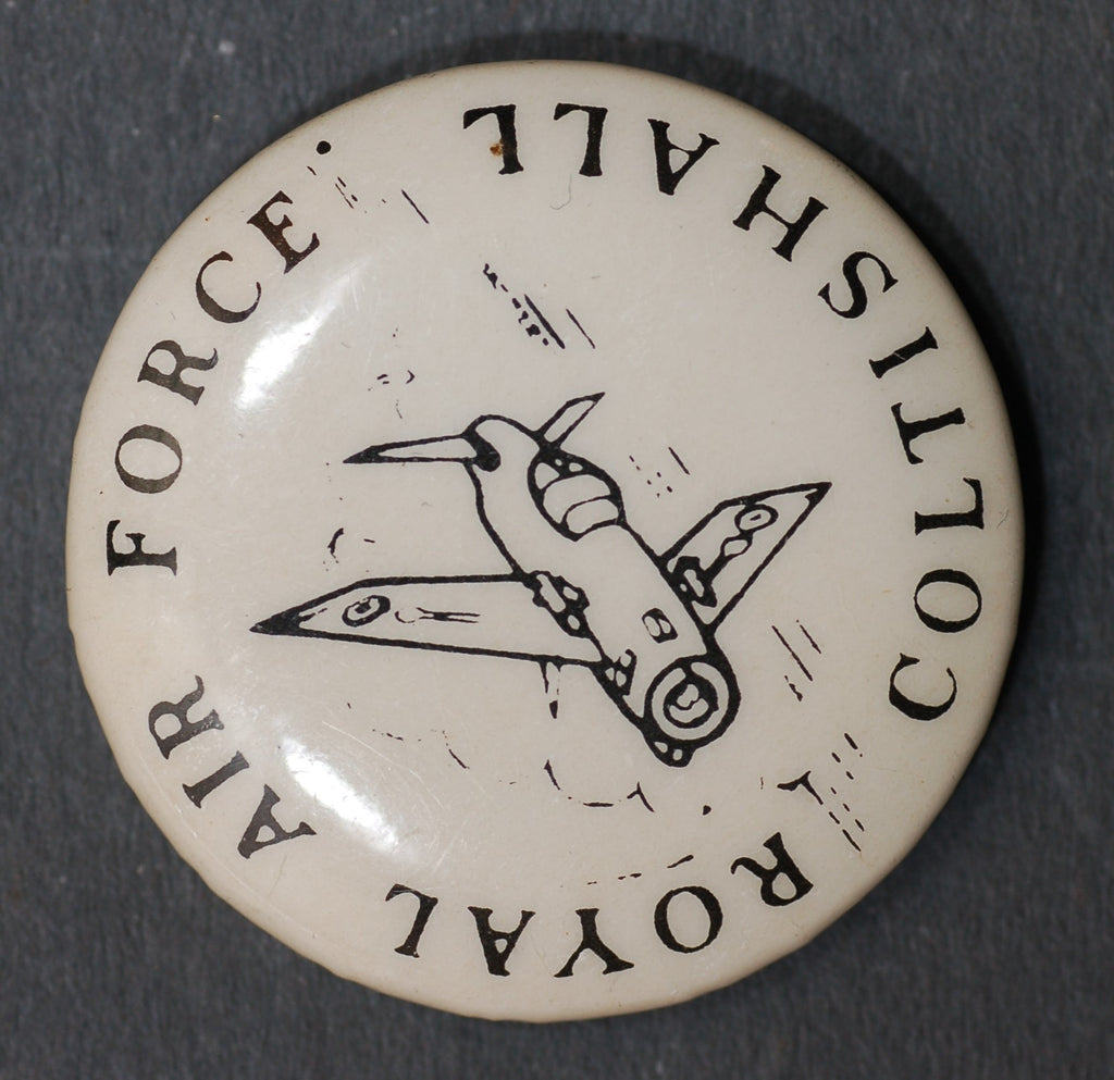 Vintage Pin button badge. RAF Coltishall