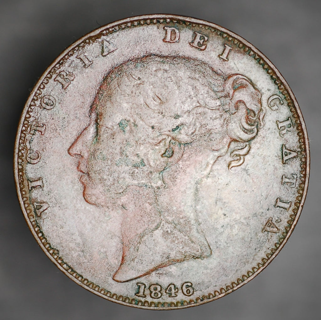 Victoria. Farthing. 1846