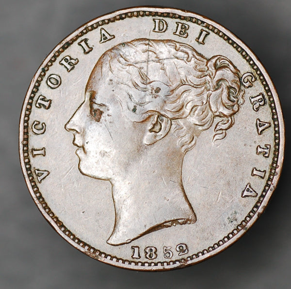 Victoria. Farthing. 1852