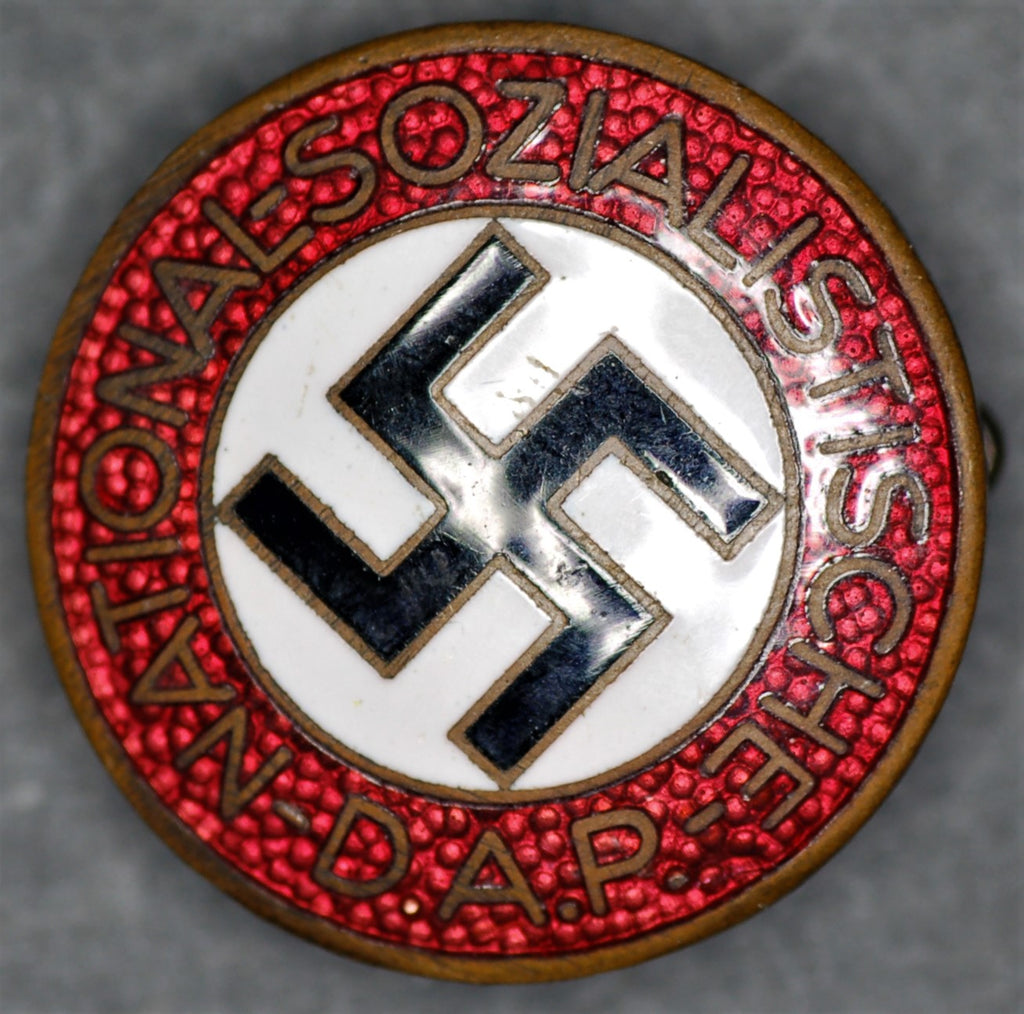 Germany NSDAP party members badge. Third Reich.