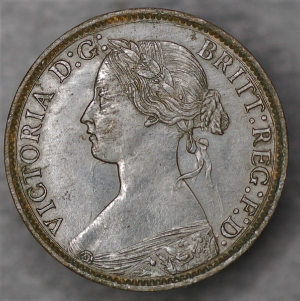 Victoria. Farthing. 1860