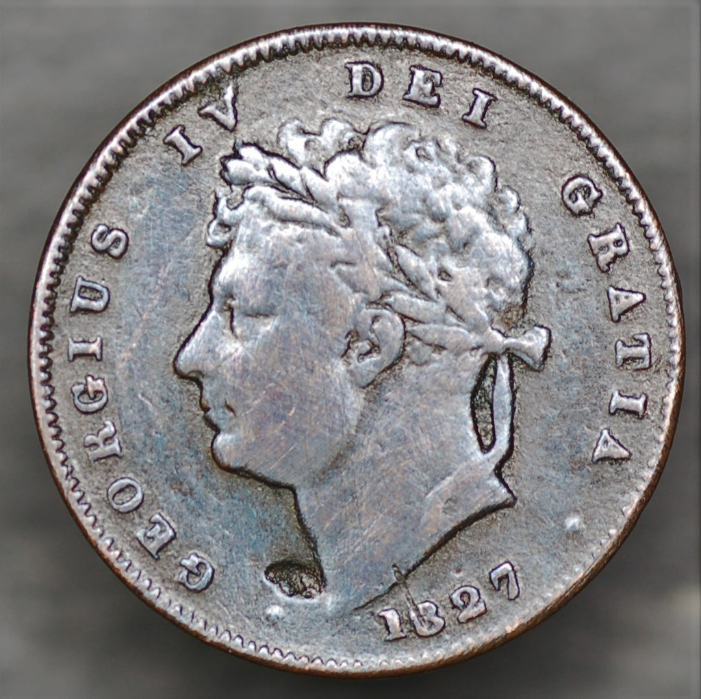 George IV. Third Farthing. 1827