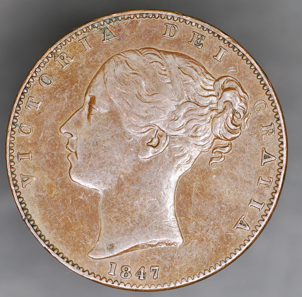 Victoria. Farthing. 1847