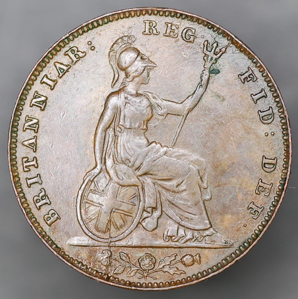 Victoria. Farthing. 1853