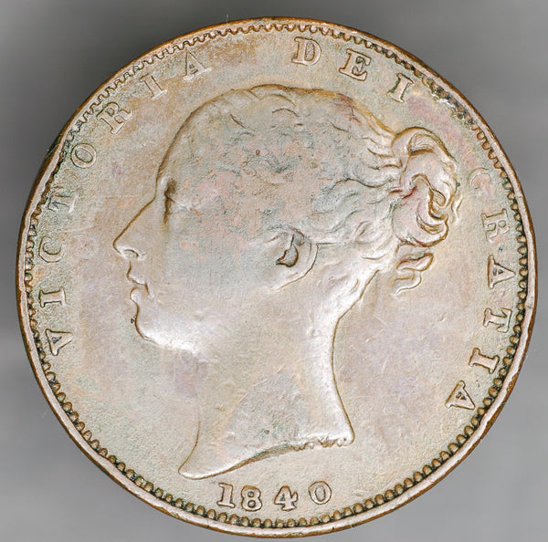 Victoria. Farthing. 1840